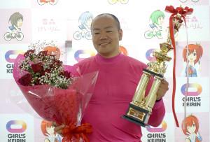 デビュー以来、S級初決勝進出で、記念を制した隅田洋介