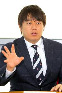 日本テレビの安村直樹アナウンサー