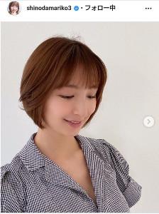 グラム インスタ 篠田 麻里子