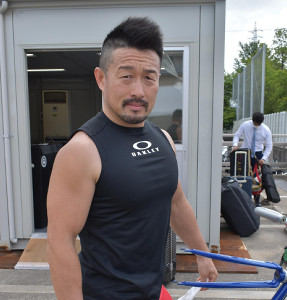 昨年のGP覇者・佐藤。いぶし銀の走りで魅せる
