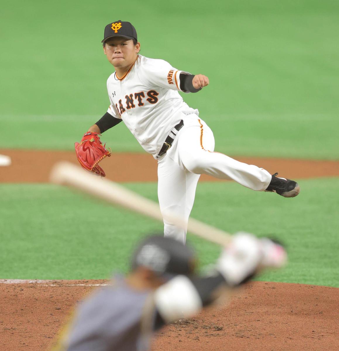 【巨人】田口麗斗、777日ぶりの先発勝利 5回1失点