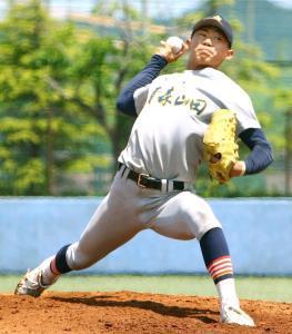 プロ注目の青森山田・小牟田は仙台育英戦で6回8失点も8奪三振の力投を見せた