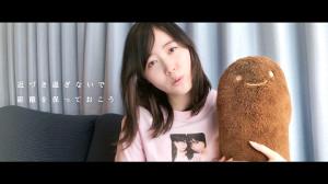AKB48の新曲「離れていても」のMVに出演する松井珠理奈
