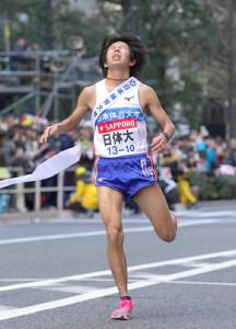 今年の箱根駅伝で17位でゴールした日体大10区・中川翔太