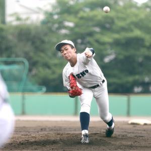 4回無失点の好投を見せた静岡商・高田