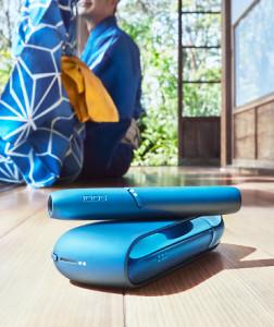 夏を感じる数量限定カラーの「IQOS 3 DUO キット 涼モデル」