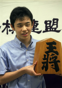 四段昇段を決めた藤井聡太三段(2016年9月3日)