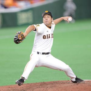 7回途中から2番手でマウンドに上がった高木京介