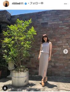 田中理恵さんのインスタグラム(@riiiiiie611)より