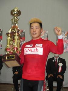 通算4度目のG3を制覇した原田研太朗