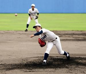 7回1安打無失点の好投を見せた静岡商・高田