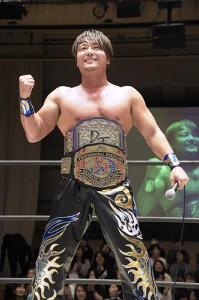 HARASHIMA(写真は昨年11月の2冠王時、DDTプロレスリング提供)