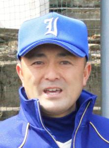 磐城前監督の木村教諭