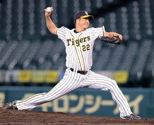 今季2セーブ目を挙げた阪神・藤川