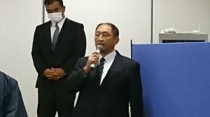 会見に出席した大谷晋二郎