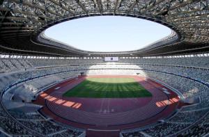 セイコーゴールデングランプリが開催される国立競技場