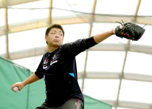 BCリーグの神奈川フューチャードリームスに入団する高木勇人