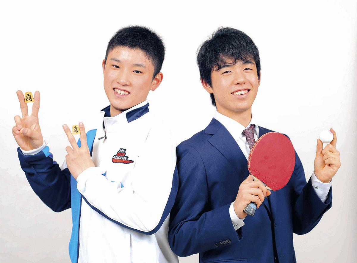 卓球・張本智和、藤井聡太新棋聖は「勇気をくれる憧れの存在」…同世代の快挙を祝福 : スポーツ報知