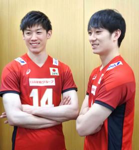 メンバー バレー 男子 日本 代表