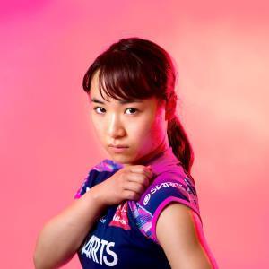 東京五輪での金メダル獲得へ手応えを深めている伊藤美誠(カメラ・矢口 亨)