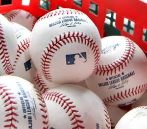 メジャーリーグのボール