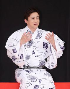 「八月花形歌舞伎」に出演する松本幸四郎