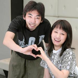 2016年、朗読劇「ラブ・レターズ」で恋人を演じた前田敦子と柄本時生