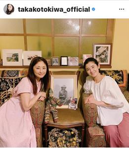 常盤貴子のインスタグラム(@takakotokiwa_official)より