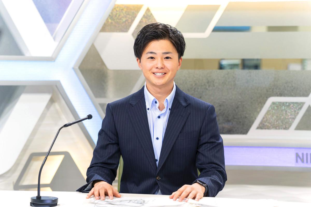 ニュースデビューを果たした読売テレビ・大野晃佳アナウンサー