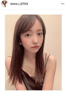 板野友美のインスタグラム(@tomo.i_0703)より