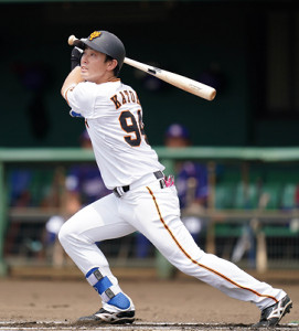 加藤脩平が5回に右翼フェンス直撃、逆転の適時三塁打