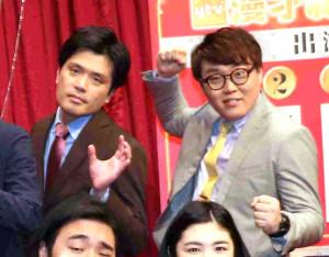 マユリカの阪本(左)と中谷