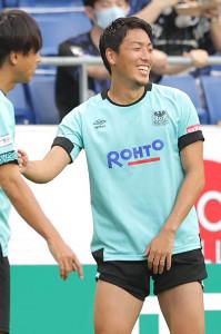 国内復帰後初めて試合に出場するG大阪DF昌子