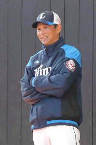 西武・西口文也投手コーチ