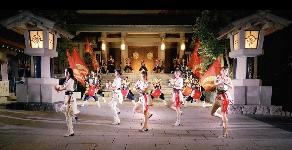 軽快なダンスを披露する(左から)琴音、愛子、ゆうり、ソフィー、LILI