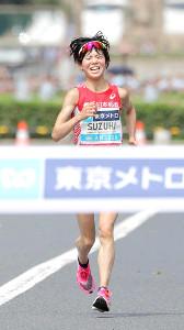 東京五輪代表を内定させた鈴木亜由子