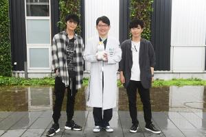 (左から)綾野剛、ずん・飯尾和樹、星野源(C)TBS