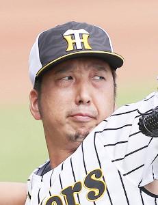 出場選手登録を抹消された阪神・藤川球児投手