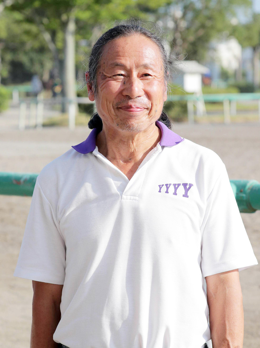 8月20日付で勇退する高橋義博調教師