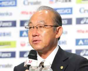 日本陸連・麻場一徳強化委員長