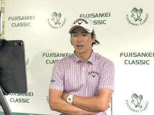 フジサンケイクラシックのリモート会見に出席した男子ゴルフの石川遼