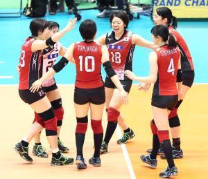 グラチャン17年大会でプレーした全日本の選手たち