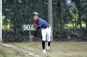 浜松湖北初のプロ選手を目指し、猛アピールを誓った北沢