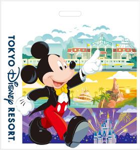 有料となるお買い物袋のデザインイメージ(C)Disney
