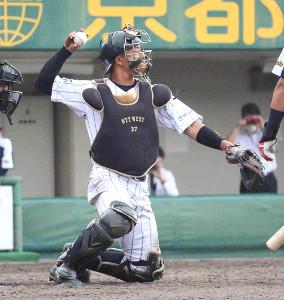 NTT西日本の先発・浜崎浩大を好リードした辻本勇樹