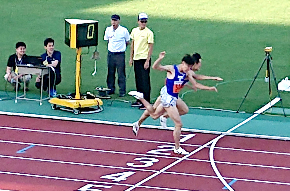 昨年の関東インカレの男子1部1500メートルのレース