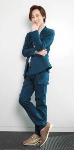 素に戻れる瞬間を明かした演歌歌手の山内惠介