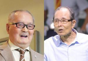 長嶋氏(左)と王氏(右)