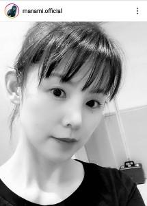 小西真奈美のインスタグラム(@manami.official)より