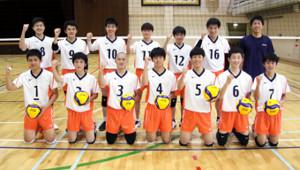 創部1年目で旋風を目指す札幌大谷男子チーム